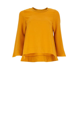 THERESA Mustard Ladies Top