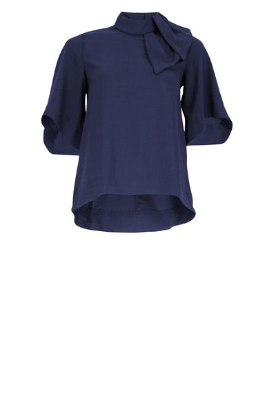 HURLEY Navy Ladies Blouse
