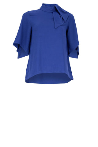 HURLEY Royal Blue Ladies Blouse
