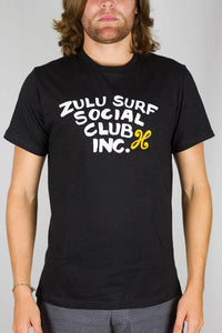 Social Club T-Shirt Black