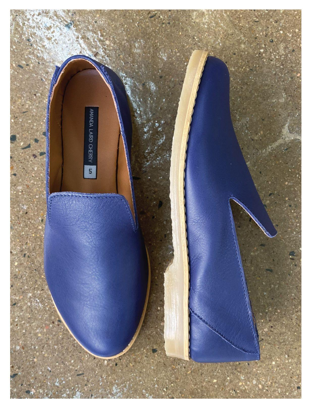 Hers Blue Loafers