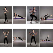 Exercise Pilates Bar & Resistance Band-Increase Muscle and Flexibility
