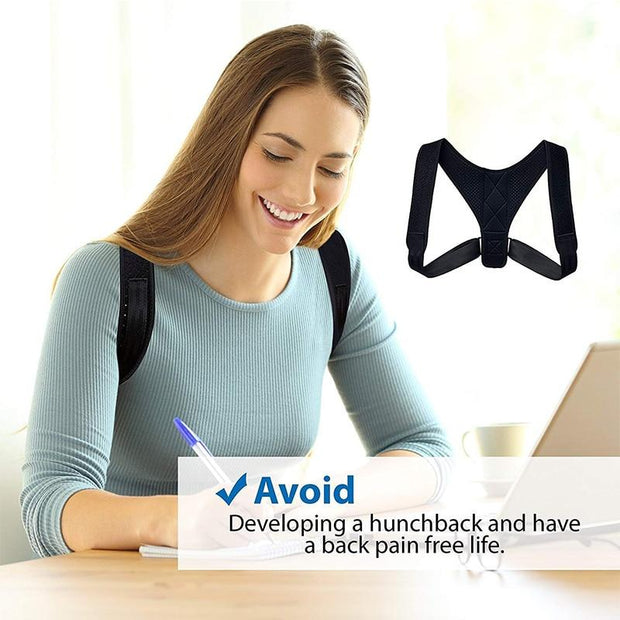 Unisex Adjustable Back Posture Corrector - Fontaine.
