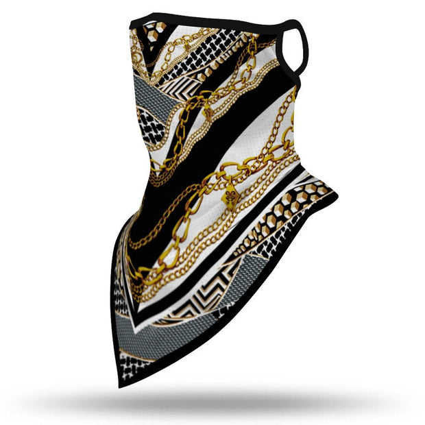 Running Sport Bandana Scarf.-12 Wearable options. - Fontaine.