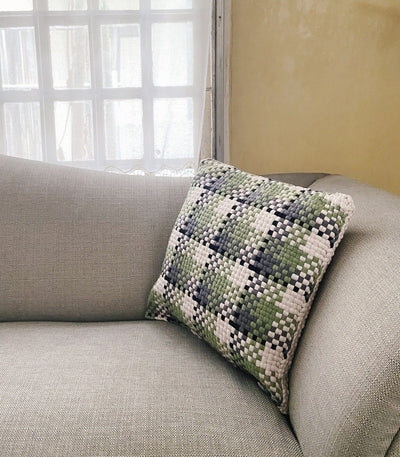 Pixel Pillow Checkered - Rags2Riches