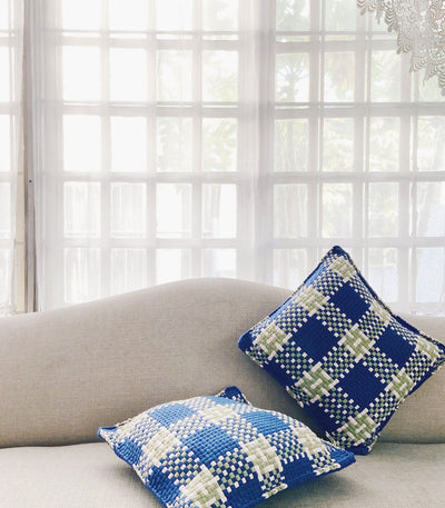 Pixel Pillow Plaid - Rags2Riches