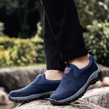 Lade das Bild in den Galerie-Viewer, Herren Wildleder rutschfeste Outdoor Soft Sole Casual Wanderschuhe