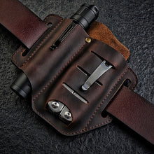 Lade das Bild in den Galerie-Viewer, Herren Echtleder Wing Leder Holster Gürteltasche Military Tactical Bag