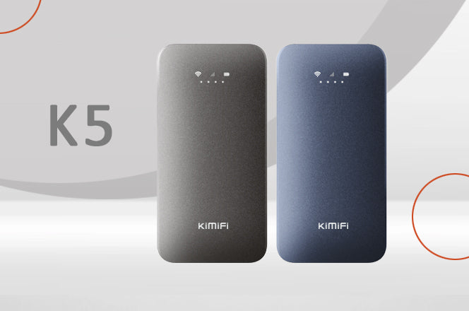 KiMiFi K5: Worldwide 4G Hotspot with The Best Reviews