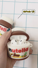 Load and play video in Gallery viewer, Nutella 3D Silicone Airpod Case Gen 1/2 with Keychain
