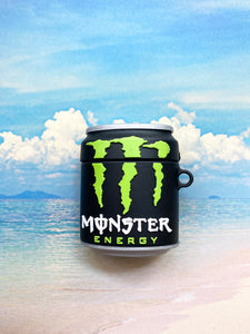 Monster Energy Can Airpod Case Gen 1/2 with Keychain