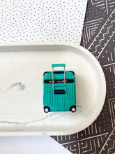 Load image into Gallery viewer, Luxury Teal Luggage Airpod Case Gen 1/2