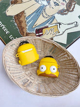 Load image into Gallery viewer, The Simpsons Cartoon Character 3D Silicone Airpod Case Gen 1/2 with Keychain