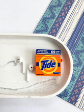 Load image into Gallery viewer, Tide Laundry Powder 3D Silicone Airpod Case Gen 1/2 with Keychain