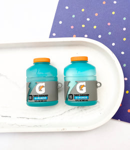 Gatorade Energy Drink 3D Bottle Airpod Case Gen 1/2 with Keychain