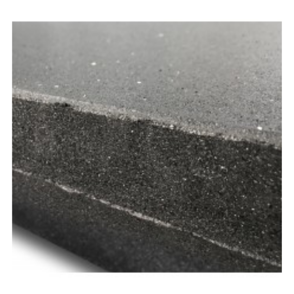 MYO Rubber Black Tile (HDS) 1000mm x 1000mm x 40mm