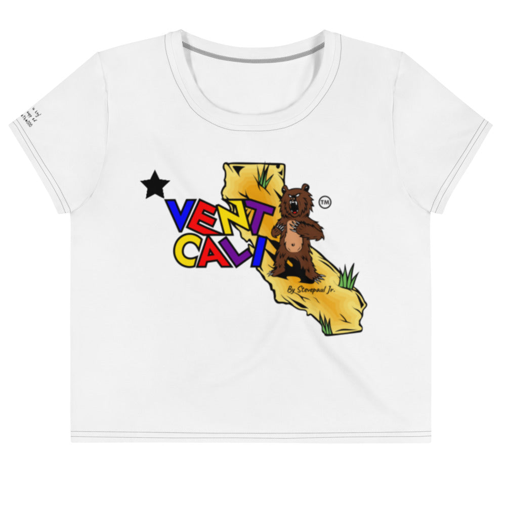 crop top tee shirts, women's cotton tees, cali life shirts, white cotton t-shirt, california t-shirts, designer t-shirts, spring crop tee shirts
