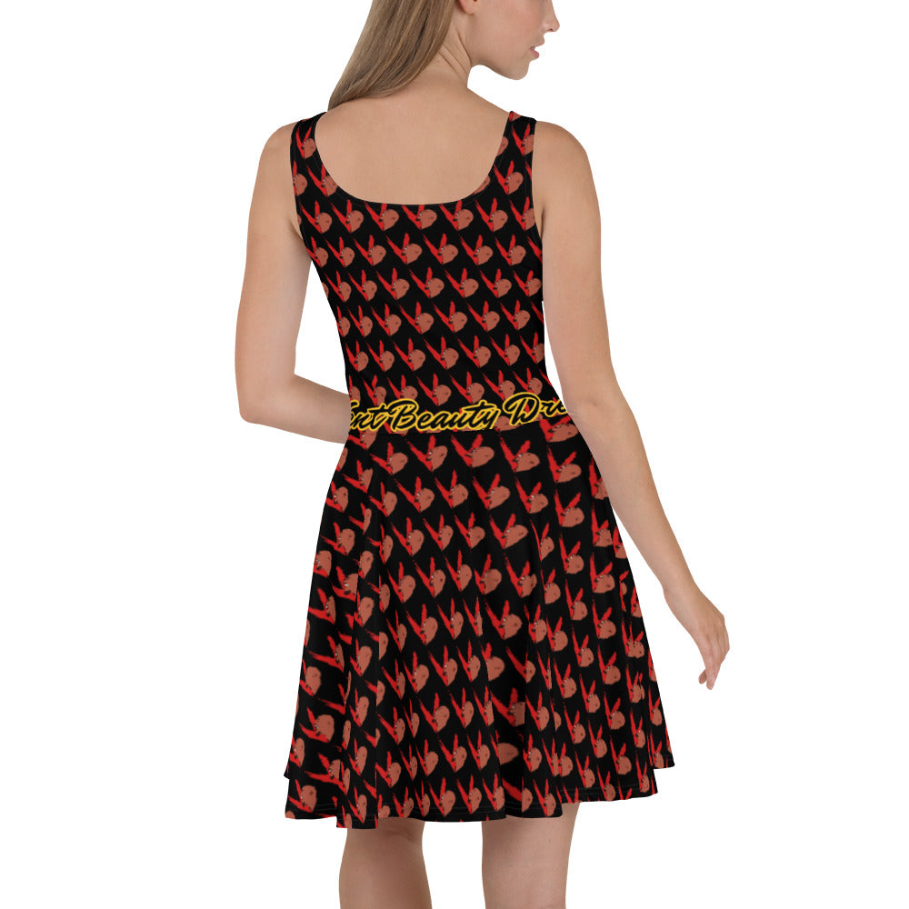 "Vent ""Beauty"" Skater Dress"