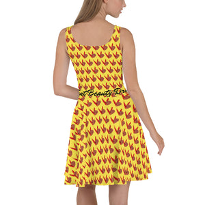 "Vent "" Beauty"" Skater Dress"