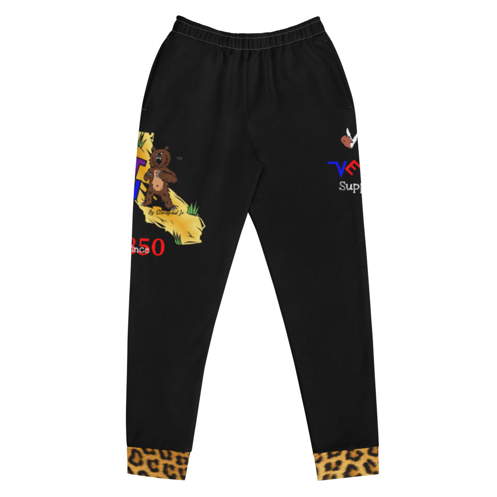 "Vent ""Cali"" Women's Joggers with cheetah print"