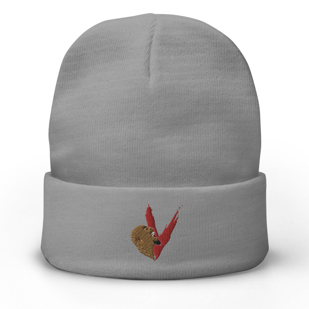 Vent Supply Logo Embroidered Beanie