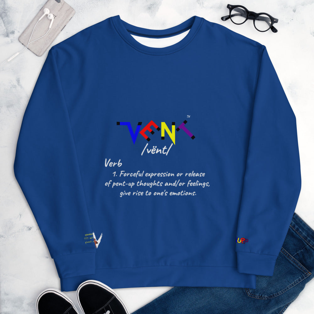 Vent Definition logo Sweatshirt