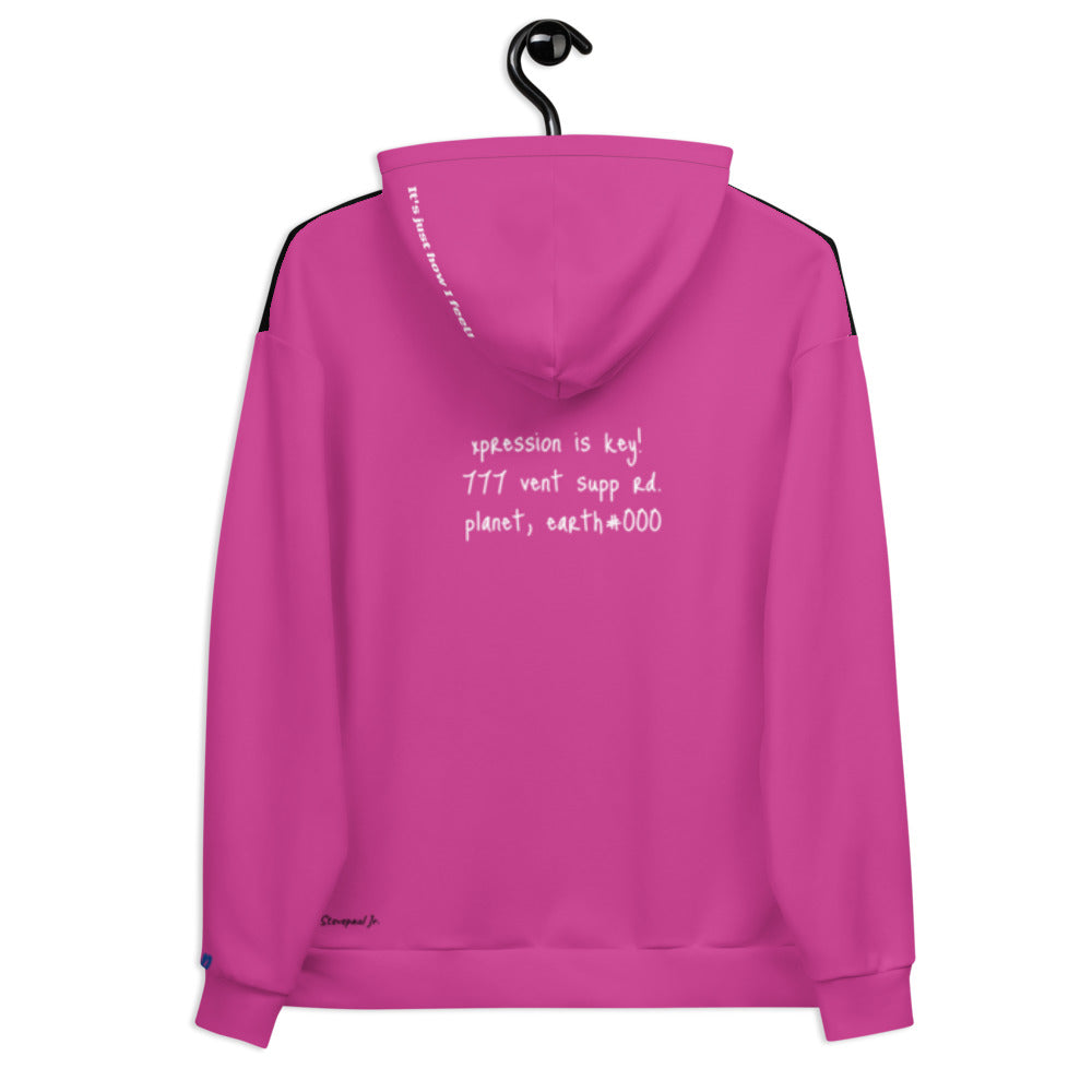 Multi-Colored Vent Definition Unisex Hoodie