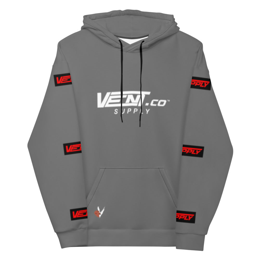 "Vent Supply ""0-100"" Unisex Racing Hoodie"