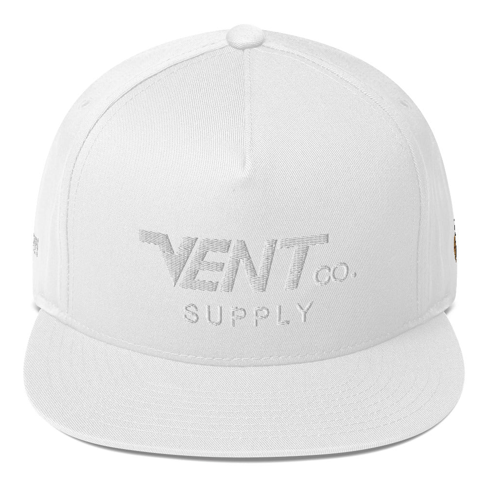 "Vent Supply ""Original"" Logo Flat Bill Cap"