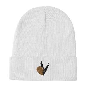 Embroidered Vent Logo Beanie
