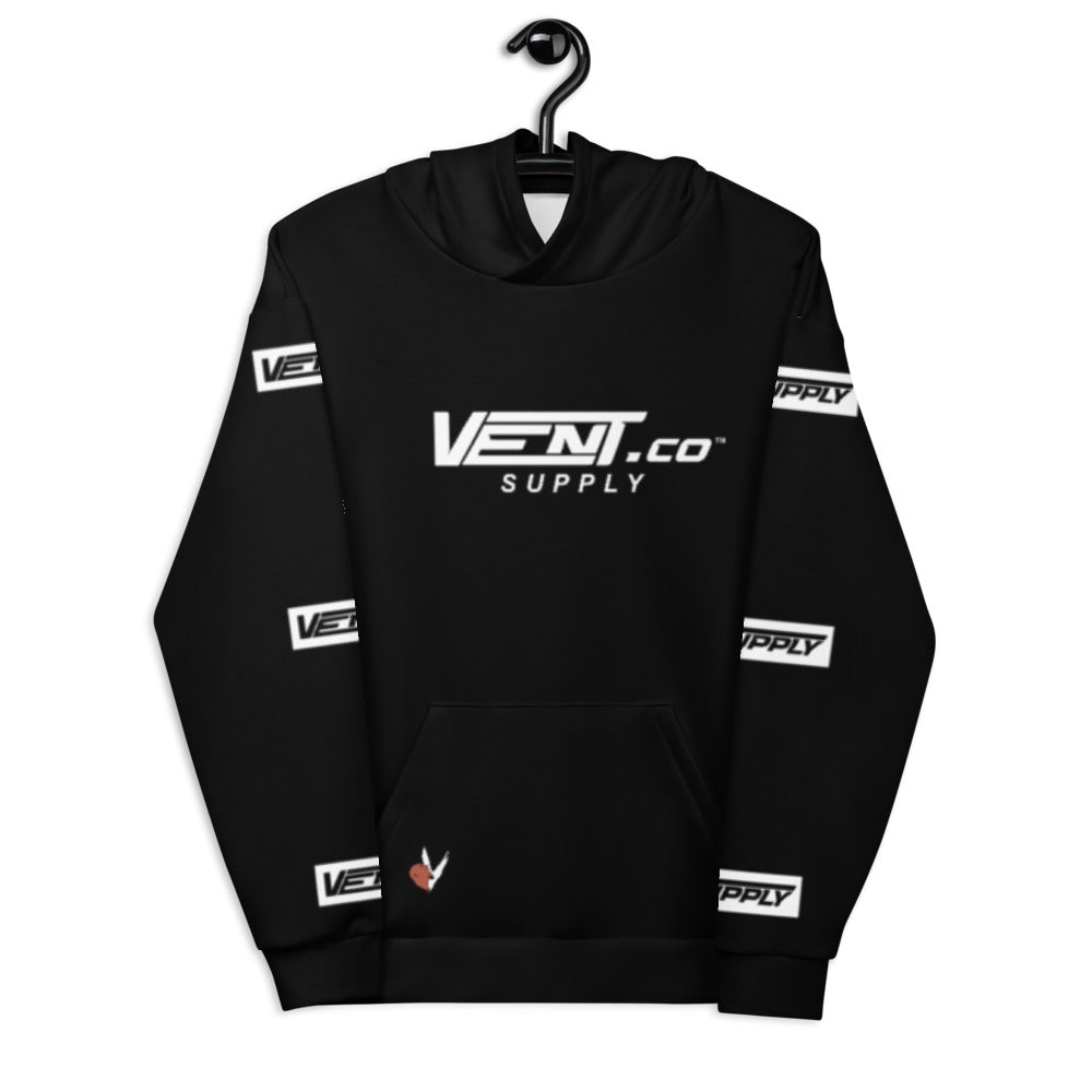 "Vent Supply ""0-100"" Racing Unisex Hoodie"