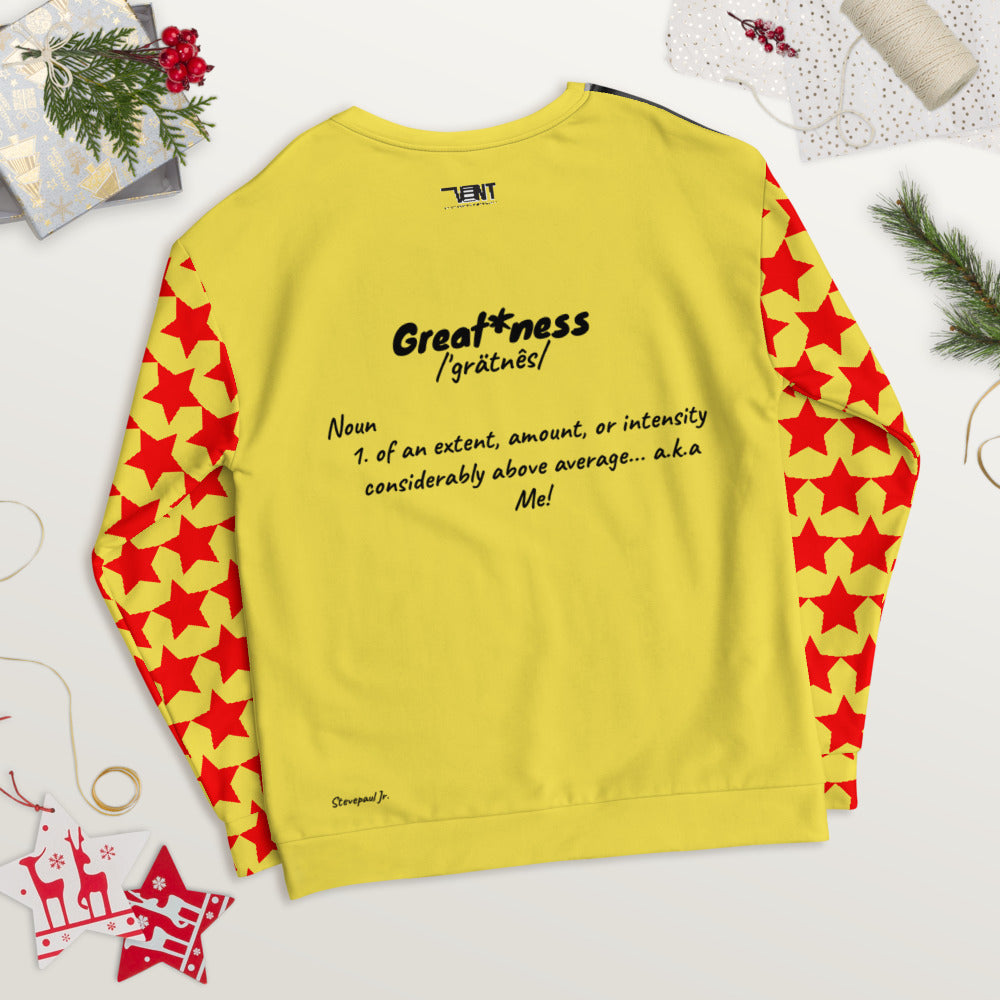 "Men's Vintage Vent ""Greatness"" Sweatshirt"