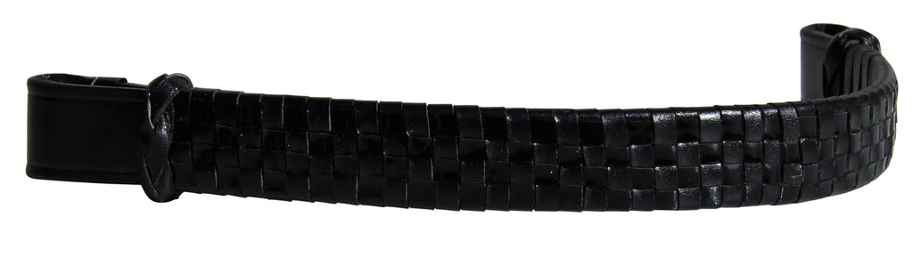 Leather Check Browband