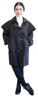 Unisex Oilskin Coat - 3/4 length