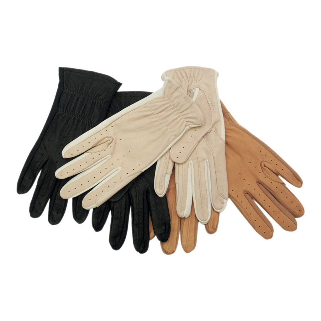 Showcraft Leather and Spandex Gloves