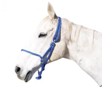 JOHNSTON ADJUSTABLE ROPE HALTER