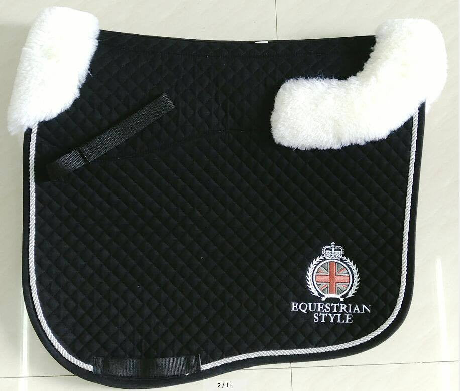Saddlecloth - Dressage with Sheepskin Pad