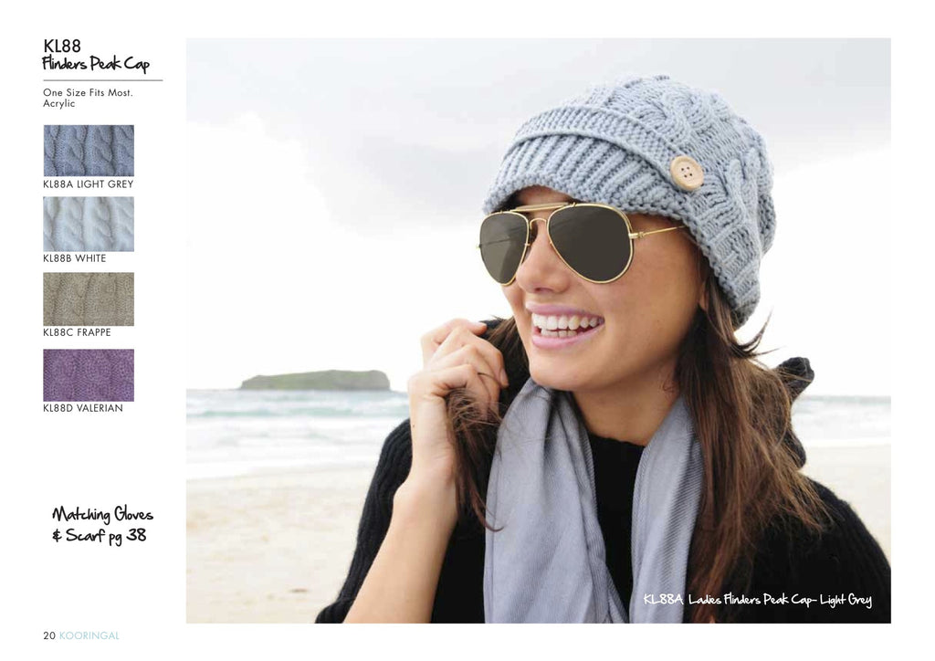 Flinders Beanie Light Grey