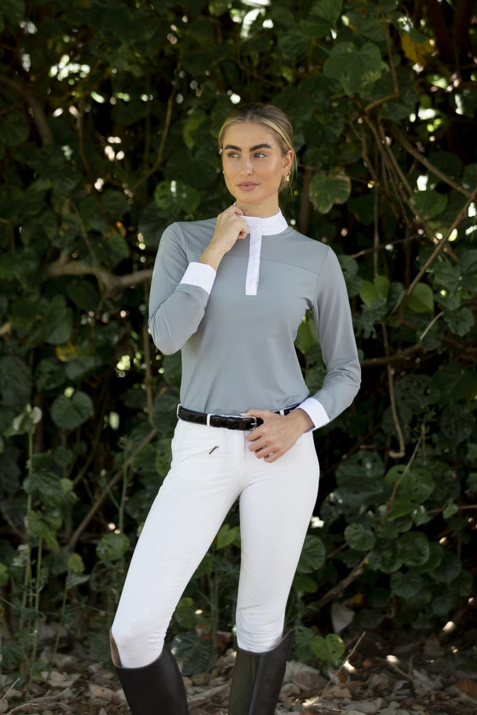 Airflow Show Shirt Grey - Ladies