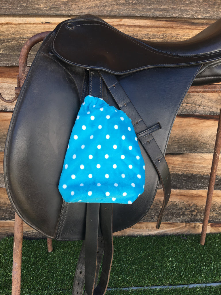 Saddle & Stirrup Cover Set 15""
