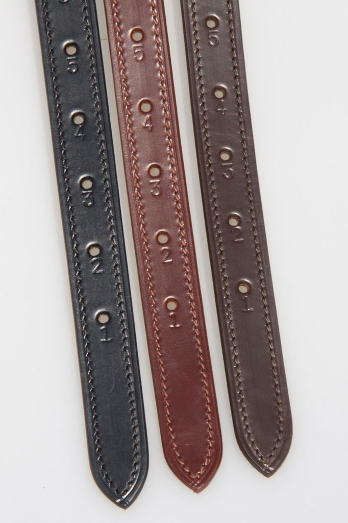 Imperial Collection Stitched Edge Adults Stirrup Leathers 56'' - 62''