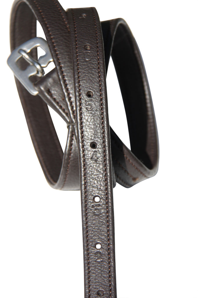 Nappa Covered Stirrup Leathers Adults 56'' - 62''