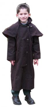 Unisex Oilskin Coat - Full Length