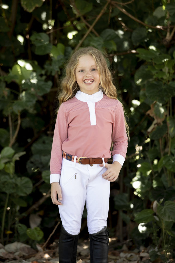 Airflow Show Shirt Dusty Pink - Kids