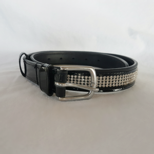 HH Bling leather belt