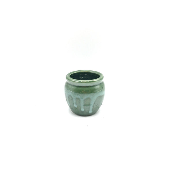 2.5'' x 2.5'' Glazed Vase For Lucky Bamboo / Set of 4