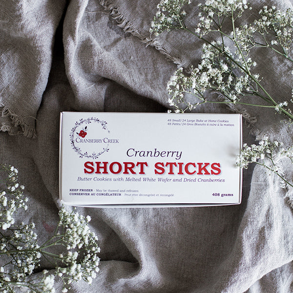 Cranberry Short Sticks - SOLD OUT FOR 2020