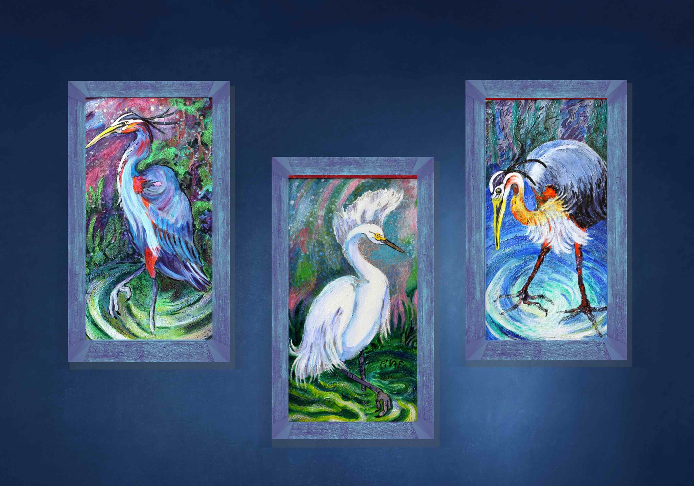 Three Herons Collection