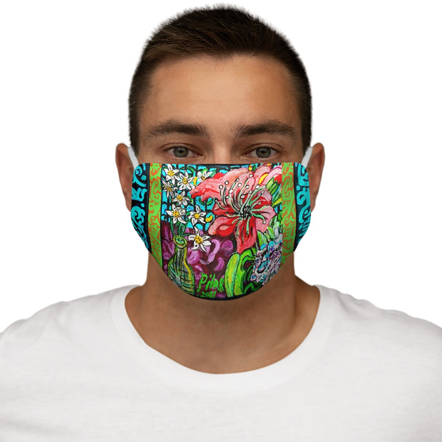 Amaryllis Face Mask