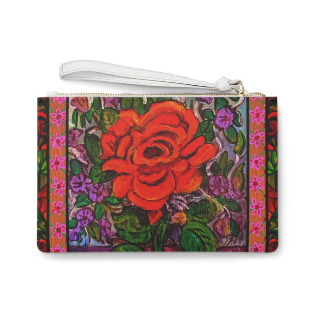 Rose in Bloom Clutch Bag